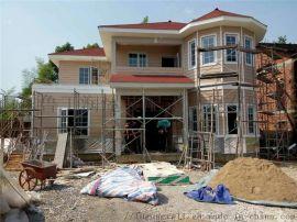 农村轻钢别墅房子,可拆卸移动轻型钢结构房屋