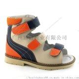 高幫兒童涼鞋,真皮矯形涼鞋,廣州外貿童鞋