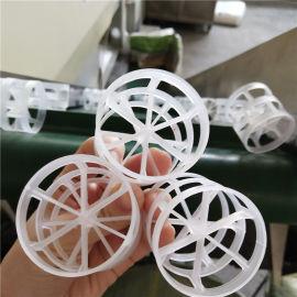 废水洗涤塔用塑料PP鲍尔环填料去除空气中的H2S