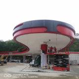 加油站S型防风铝条扣生产