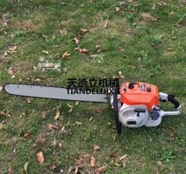 汽油机带土球挖树机 6.4马力便携链条式挖树机