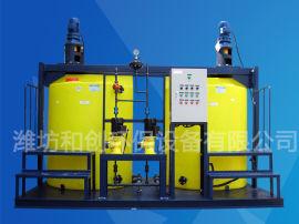 PAC加药装置操作/全套水处理消毒设备