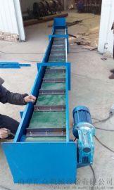 粮食输送机 刮板机型号 六九重工 粮食用环链刮板机