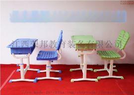 中小学生学习桌塑料加厚可升降课桌椅成套
