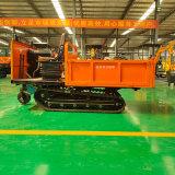 水電站橡膠式履帶自卸車 農用4噸履帶運輸車