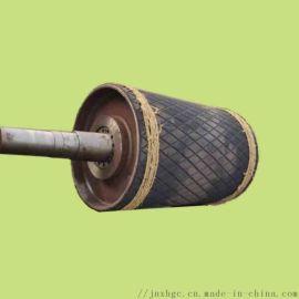阻燃橡胶拉紧导向滚筒总成 聚氨酯导向滚筒维修
