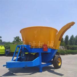 郑州全自动大型草捆粉碎机厂家移动式圆盘秸秆破碎机