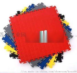 pvc工业锁扣地板 车间厂房工业pvc软地砖