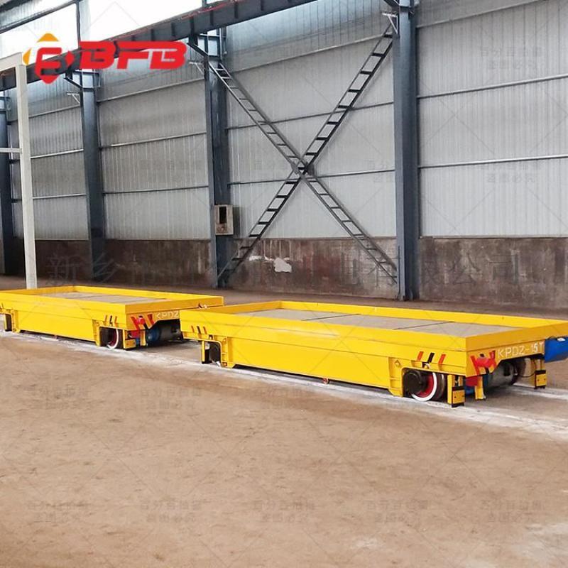 電動平板運輸車 轉運容器罐軌道平板車 軌道平車
