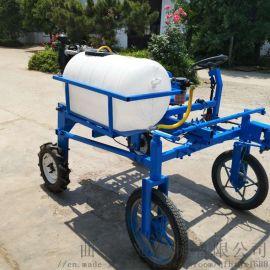 四轮乘坐式玉米打药机 新型冬小麦农田喷药机