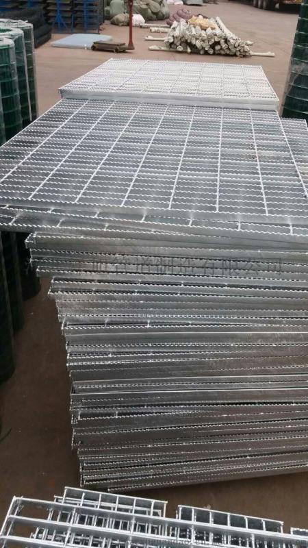 熱鍍鋅鋼格柵、電鍍鋅鋼格柵