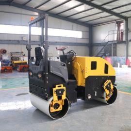 厂家直销 手扶单轮双轮压路机 小型座驾压路机