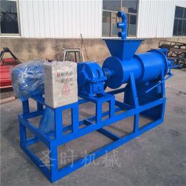 效率高的粪便干湿处理机参数 挤压式牛粪固液分离机