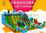 供應浙江充氣滑梯 大型新款充氣城堡新款