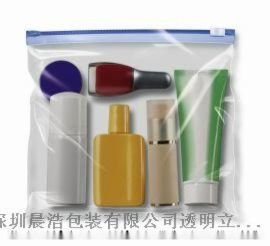 PVC透明化妆袋厂_PVC拉链袋_PVC包装袋订制