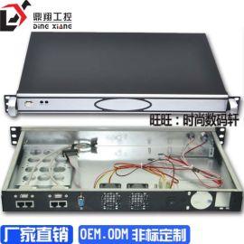 迷你ITX防火墙机箱ROS机箱超短1U4网口
