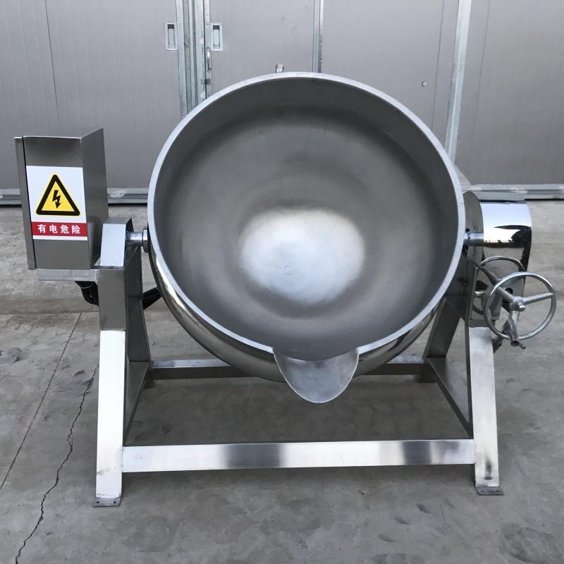 鲜奶皮子熬制夹层锅 海鲜汤熬制夹层锅