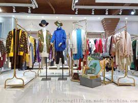 上海**品牌森塔斯羊毛毛衣女装折扣货源哪里有