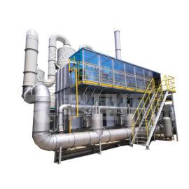 RTO有機廢氣焚燒爐工作原理