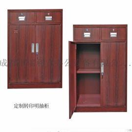 重庆钢制文件柜 定制铁皮办公柜 资料柜财务凭证柜