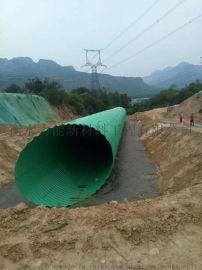 河道改移直径3米金属波纹管涵