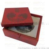 茶餅茶磚茶葉包裝盒,**實木修色噴漆