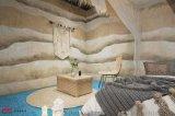 民宿仿古稻穀泥牆面材料需要用到哪些