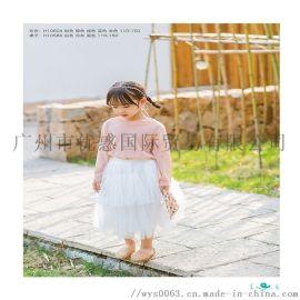 广州品牌连衣裙 秋装连衣裙 童装连衣裙