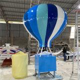 广州  太空主题雕塑摆饰 玻璃钢太空飞船雕塑