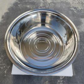 304不锈钢盆无磁反边大斗盆加深加厚