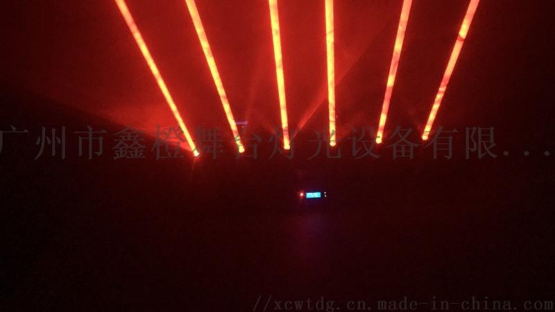舞台灯广州鑫橙舞台灯光六眼激光雨舞台灯