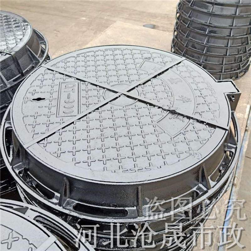 天津铸铁井盖厂家 天津球墨铸铁井盖
