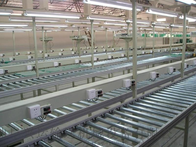 帶式機滾筒 箱包生產廠家用動力滾筒輸送機 六九重工
