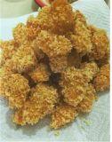 雞米花上粉機 雞米花滾筒裹粉機 雞米花油炸生產線
