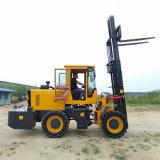 鉸接式升降門架內燃叉車 裝卸搬運3.5噸叉車