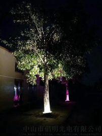 抱树灯厂家 外控抱树灯  七彩抱树灯厂家倡明光电