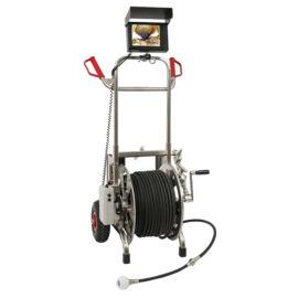 高压冲洗内窥镜,视频检测与管道高压冲洗工作合二为一