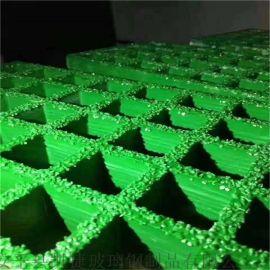 铺砂型玻璃钢格栅 检修平台玻璃钢格栅