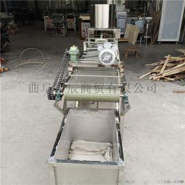 角架豆腐皮机3米60宽双扒皮缠布机
