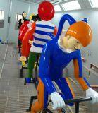 形象风靡麦当劳叔叔玻璃钢小丑人物雕像摆件