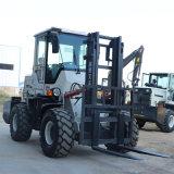 叉车3吨 柴油全新搬运车2 3.5燃油越野叉车