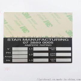 全自动印刷铝标牌铝铭牌