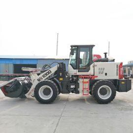 厂家轮式装载机搅拌斗 水泥砂浆混凝土铲车搅拌斗