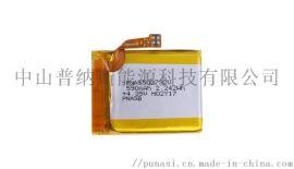 502732 590mah高容量医疗器具充电锂电池