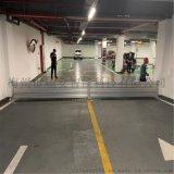 不鏽鋼防洪閘門安裝在車庫的廠家詳細圖片