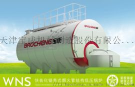 天津燃气锅炉 燃气热水锅炉WNS蒸汽热水锅炉