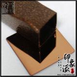 8K古铜金不锈钢镜面板供应商