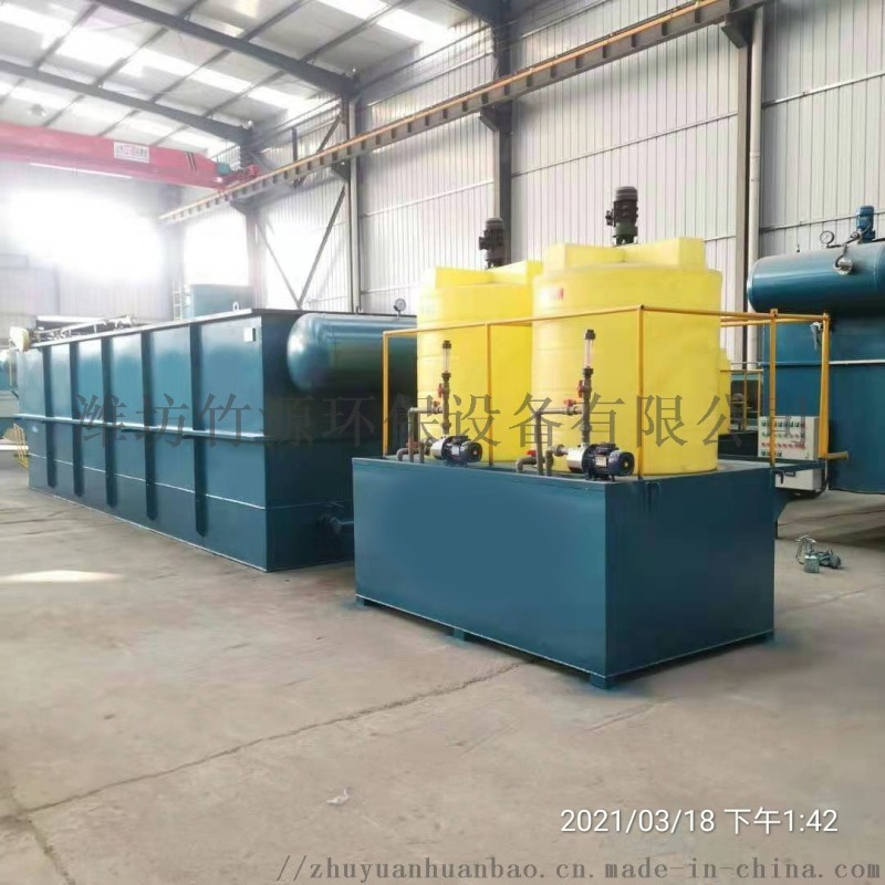 湖北襄阳养猪场污水处理设备 气浮过滤一体机现货销售