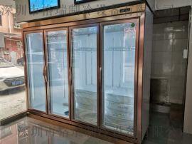 供应立式超市饮料冷藏展示柜便利店啤**冷柜制冷设备