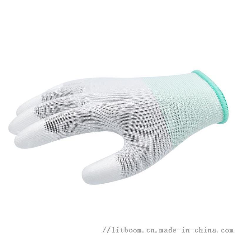 防靜電PU塗指手套 電子廠手套